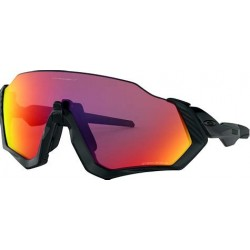 OAKLEY FLIGHT JACKET MATTE BLACK- POLISHED BLACK / PRIZM ROAD